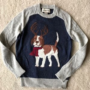 Boys Lands' End Holiday dog Seeater